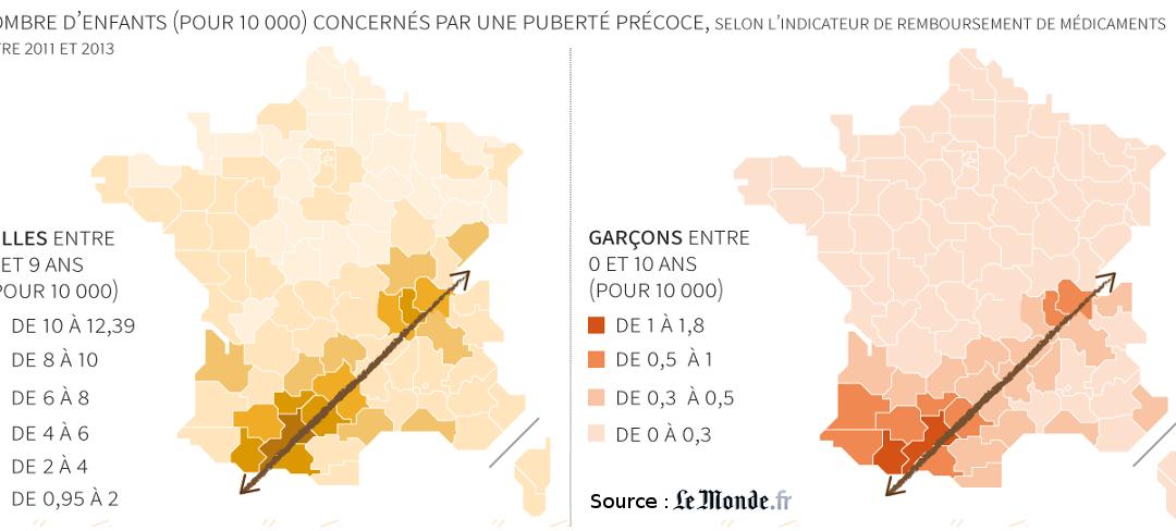 Puberté précoce : les régions de Toulouse et de Lyon sont-elles vraiment plus touchées ?